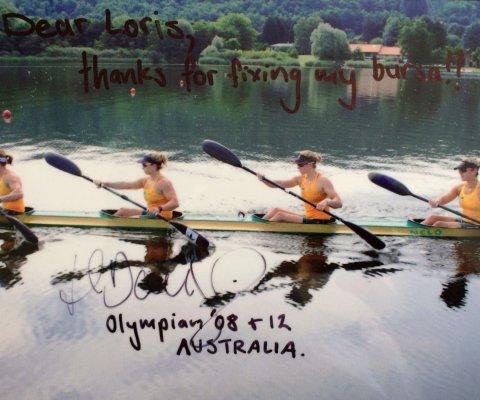 Hanna Davis, Australia, Squadra Olimpica 2008, 2012