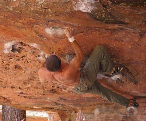 Alessandro Rochelli, free climber