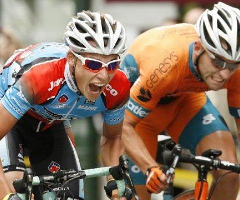 Patrick Lane (a sinistra) - Australia Ciclying Team