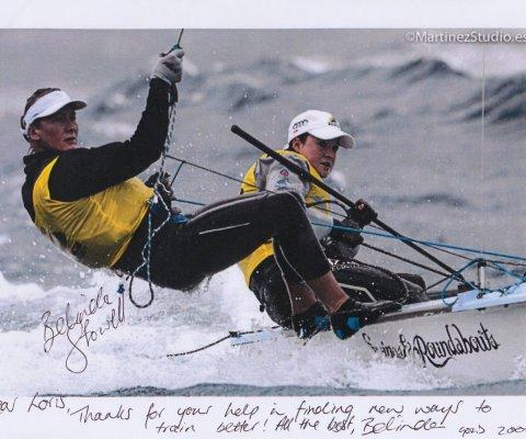 Belinda Stowell, Australia, Medaglia d'oro olimpica, Sidney 2000