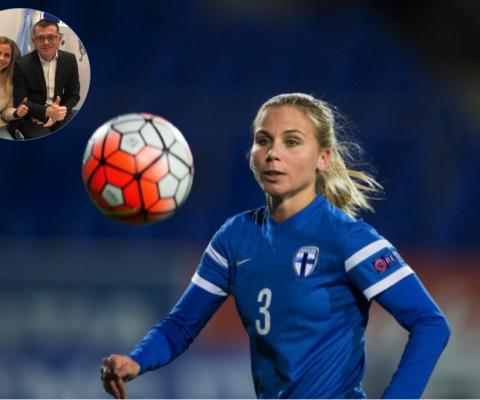 Tuija Hyyrynen - Finlandia - Nazionale Calcio Finlandese